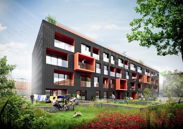 Budynek mieszkalny N1 w Gliwicach