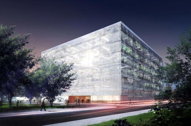Zespół budynków biurowych w Warszawie