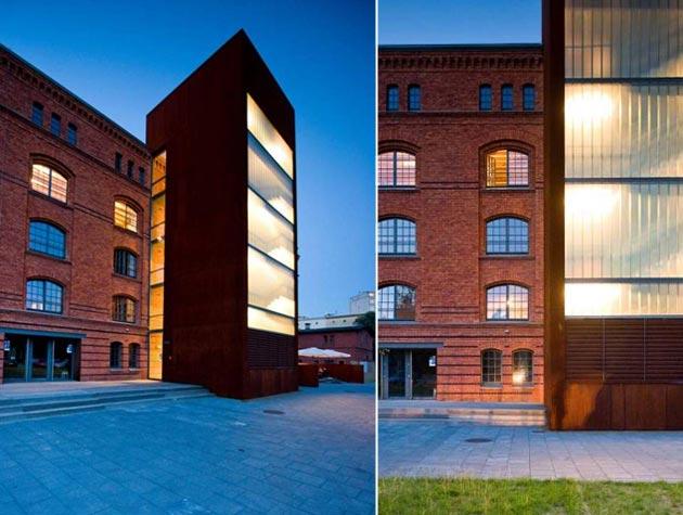 Adaptacja budynku spichlerza na lofty mieszkalne